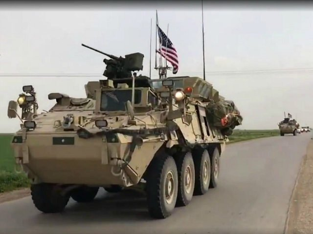 american troops syria