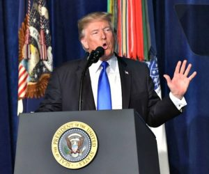 Trump Afghanistan speech