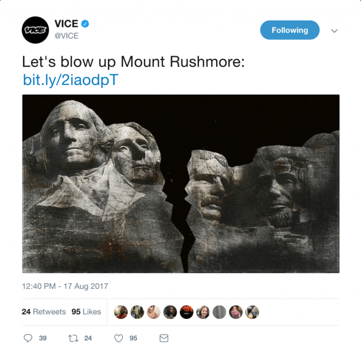vice blow up mount rushmore