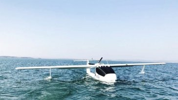 Chinese Company Develops First Amphibious Drone