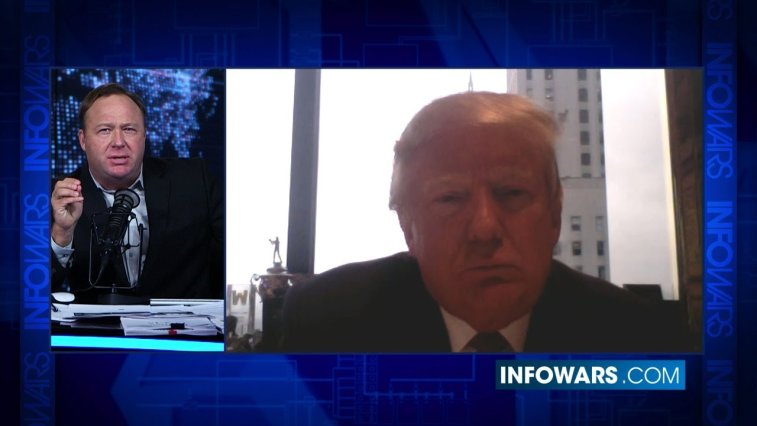 alex jones donald trump
