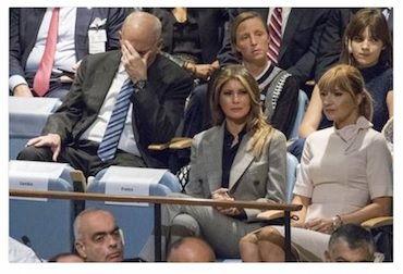 kelly facepalm trump un speech