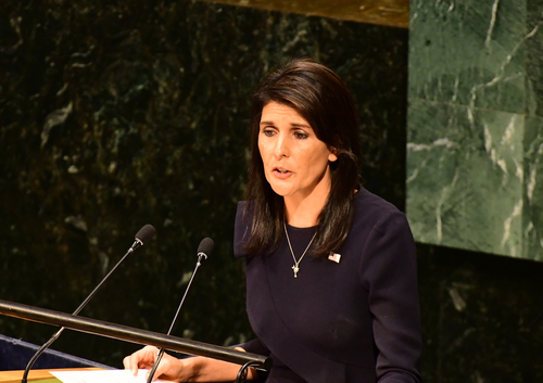nikki haley throws trump under the bus