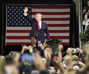President Trump Holds A Rally In Pensacola, Florida