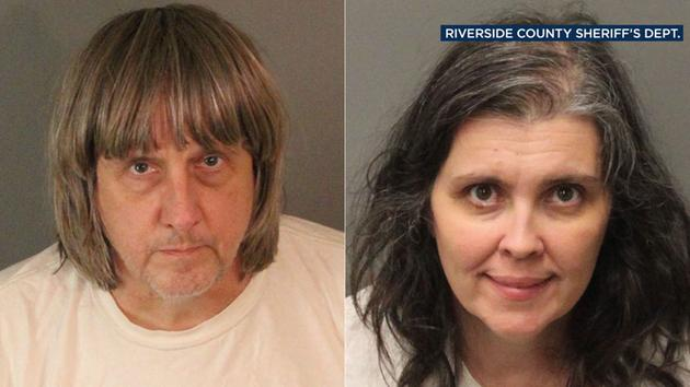 David and Louise Turpin allegedly kept 13 victims