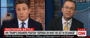 Mick Mulvaney Schools CNN's Chris Cuomo On Illegal Immigration