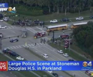Dozens Of Victims After Shooting At Florida High School; Suspect In Custody