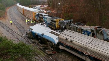 Horror Amtrak Collision in South Carolina Leaves 2 Dead, 70+ Injured