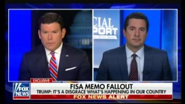Rep. Nunes Speaks On DOJ-FBI Spying on Trump