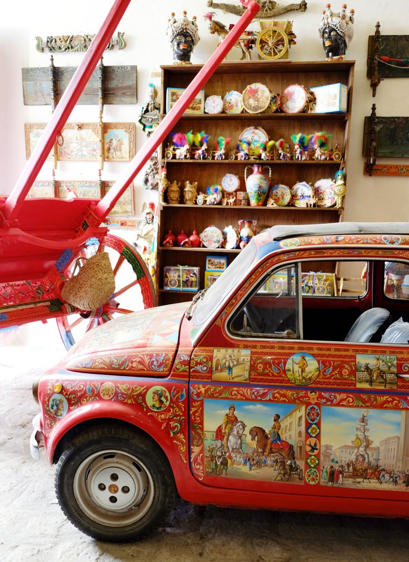Sicily's Painted Cart Tradition