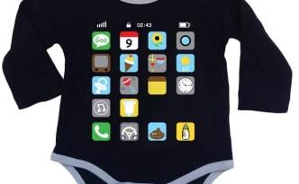 iPhone onesie