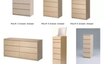 IKEA dresser recall