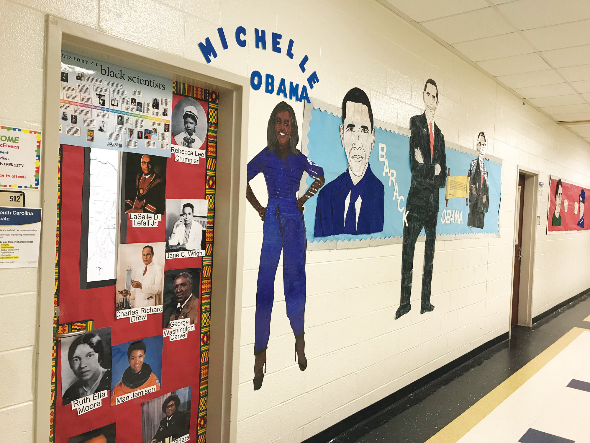 Lee Central Middle School Students Use Art To Learn About
