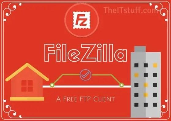 FileZilla free ftp client
