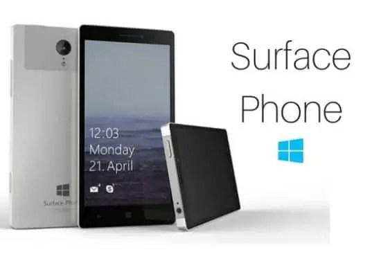 surface phone rumour