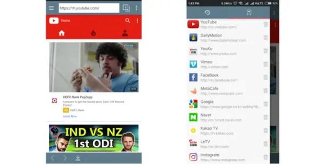 TubeMate video downloader youtube downloader for android