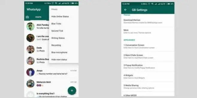 gbwhatsapp a whatsapp mod