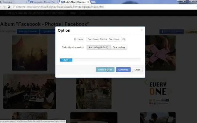 ensky facebook album downloader