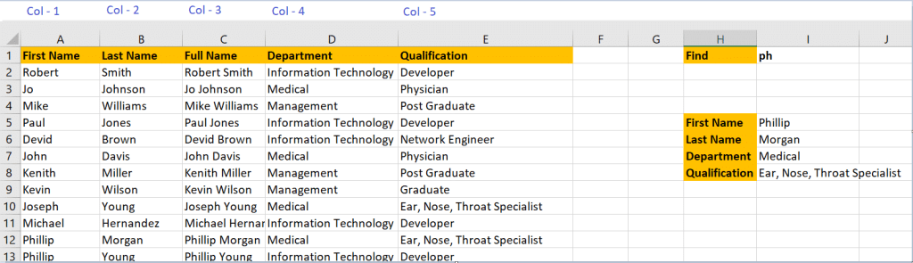 Vlookup for Wildcard Match 3