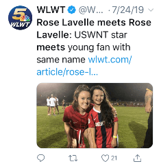 The IX: Soccer Monday with Anne M. Peterson, August 12, 2019