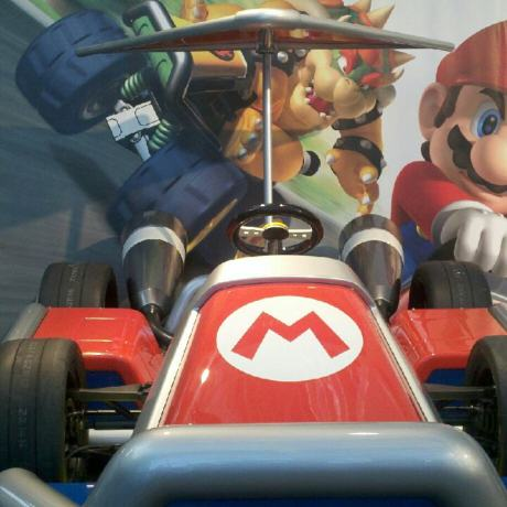 A working version of Mario Kart.