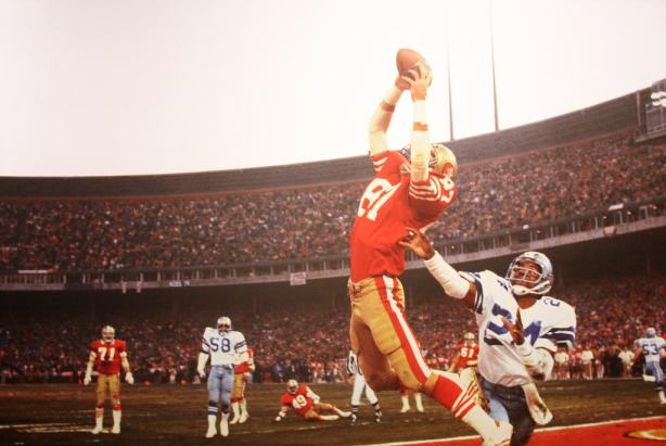 Dwight Clark and Everson Walls, San Francisco, Calif., 1982