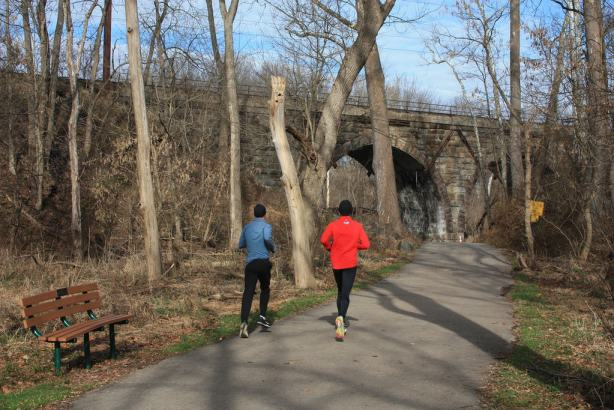 Wissahickon Trail Whitemarsh runners II