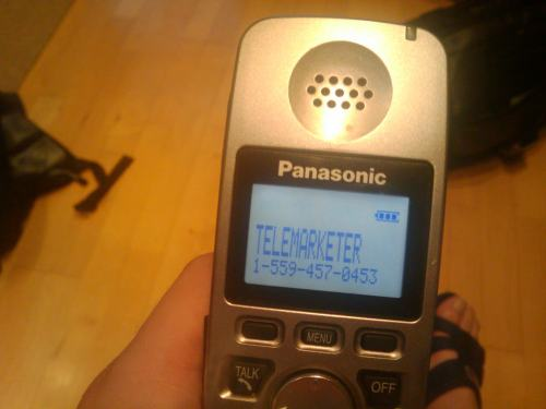 Telemarketers Leave Me Alone!