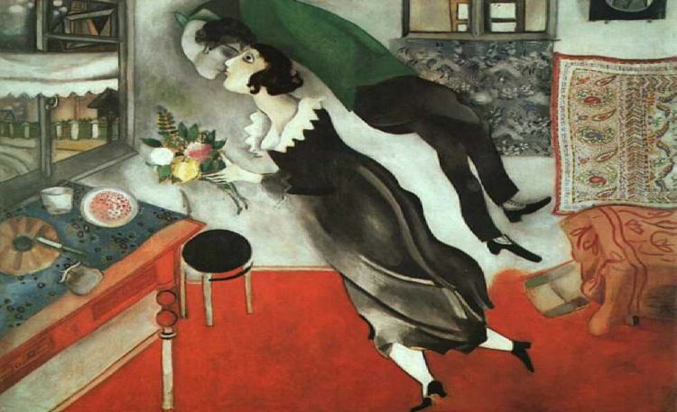 chagall, love, a hat and a song