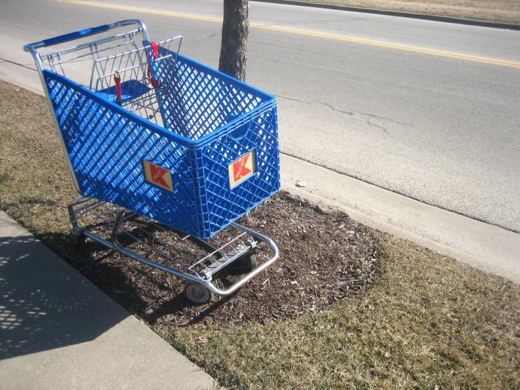 Kmart Shopping Cart