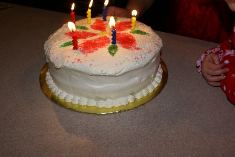 Julia had the kids make me this cake