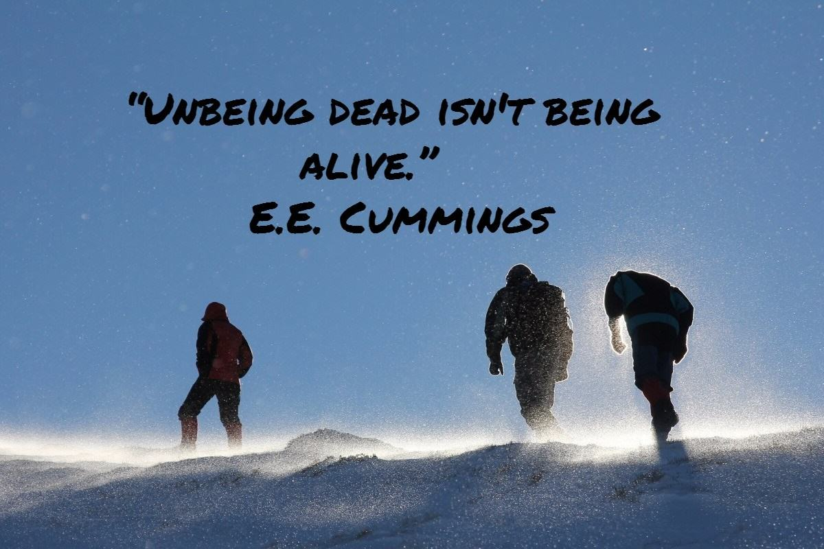 unbeing dead