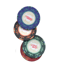 Poker chips from Cartamundi