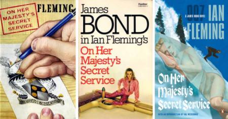 On Her Majesty's Secret Service Covers