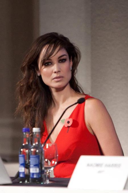 Bérénice Marlohe at Skyfall press conference