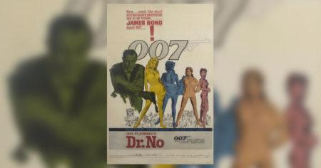 Dr No poster