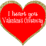 Valentine's Sparkly Giveaway!
