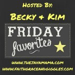 Friday Favorites: A Link Up  -School Lunch/Snack Ideas