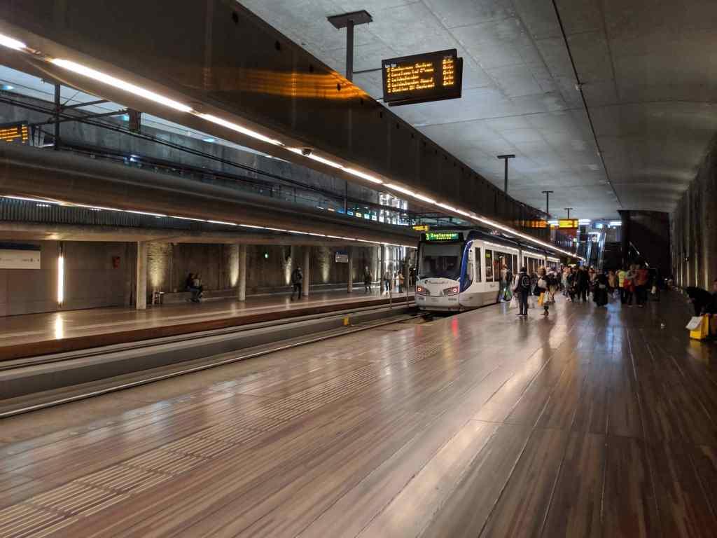 Hague Metro Station