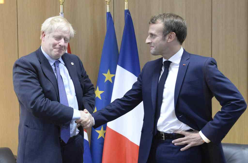 Boris and Macron