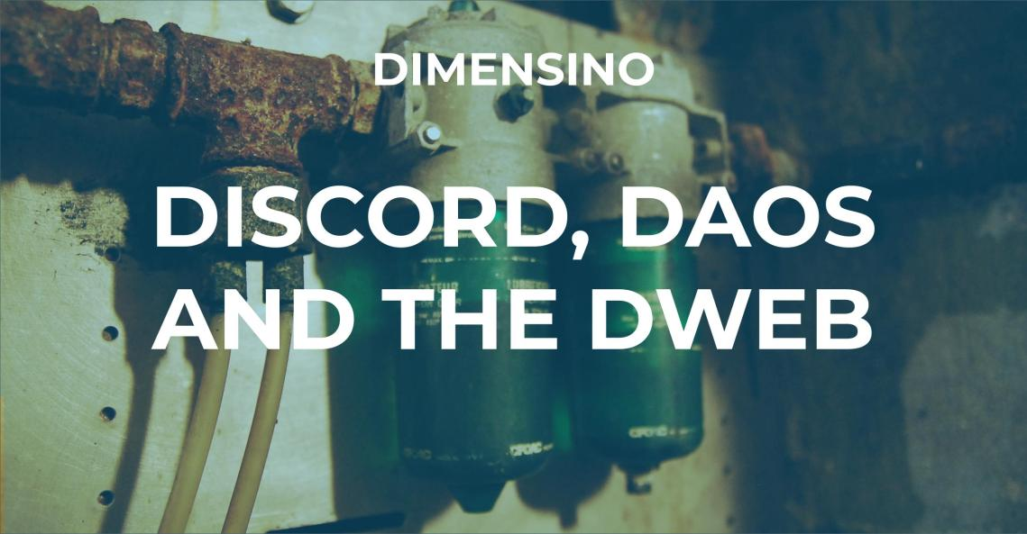 Discord Dweb Cover
