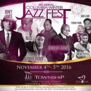 Columbia Winter Jazz Festival 2016