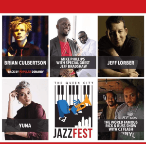 The Queen City Jazz Fest 2017