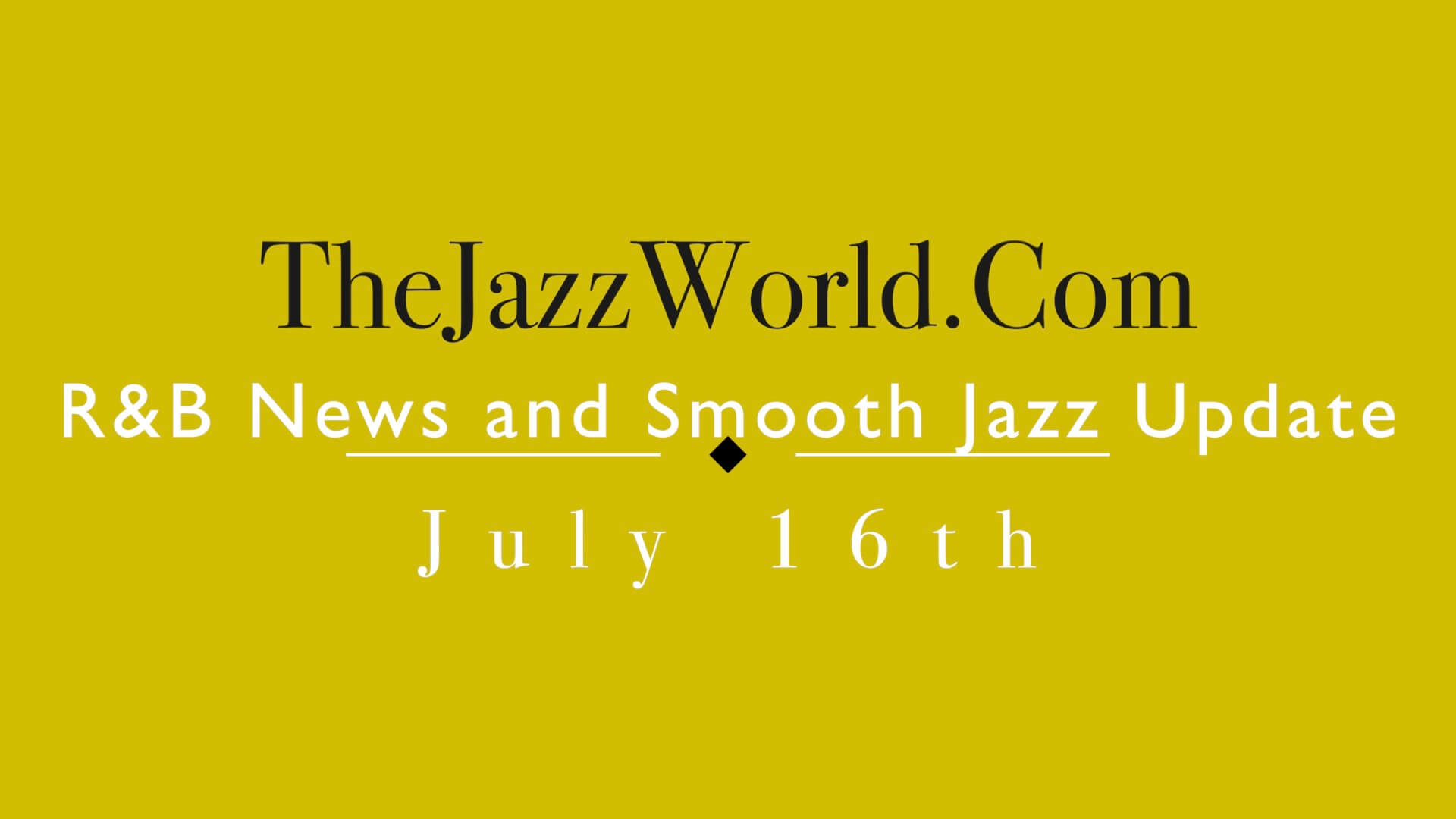 The Jazz World Show 7:16