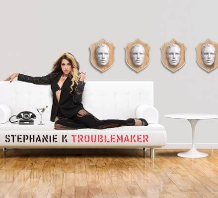 """Pop singer Stephanie K flips the script on """"Troublemaker"""""""