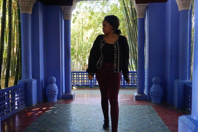 Traveled to Marrakech, Morocco to Visit Le Jardin Majorelle