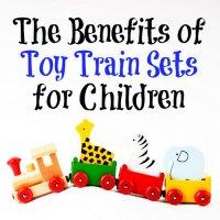 Toy Train Sets Benefit Children's Growth and Development