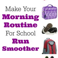 Sure-Fire Tips to Make Your Morning Routine For School Run Smoother