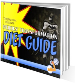 Diet Guide Cover - 3D Reverse - Small