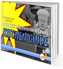 Kitchen Guide Cover - 3D Reverse - Small